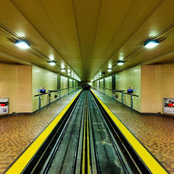 Le Métro de Montréal vu par Alexandre Chamelat