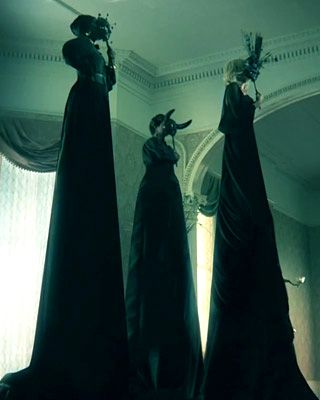 American Horror Story: Coven. Love this show, the first episode was amazing hope the rest of the season is just as great!