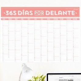 Calendario de pared - 365 días por delante  - Calendarios - Papelería