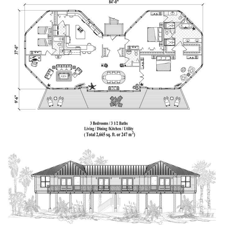 Plan 66342we 3 Bed Beauty With 2 Lanai: 20 Best Images About Miscellaneous On Pinterest