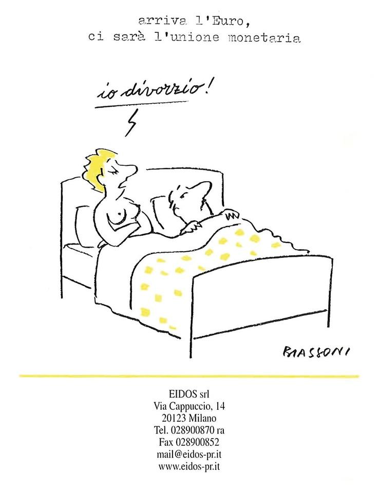Eidos Calendario 1999/Illustratore Biassoni