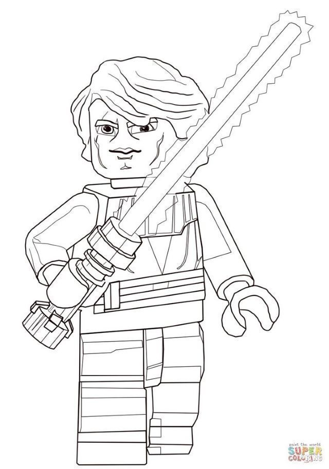 Sports coloring: Lego Star Wars Coloring Pages To Print | Coloring-book.buzz | 913x640