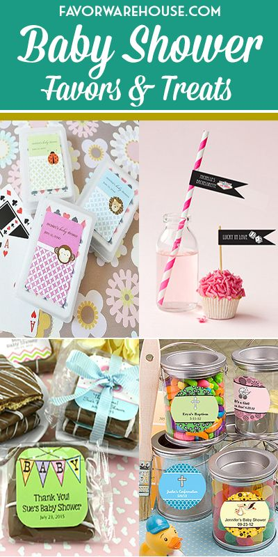 Baby Shower Favors & Treats for Your Special Day! #FavorWarehouse