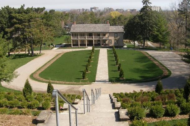 Battlefield House Museum & Park National Historic Site « Garden Voices of Ontario's Historic Gardens