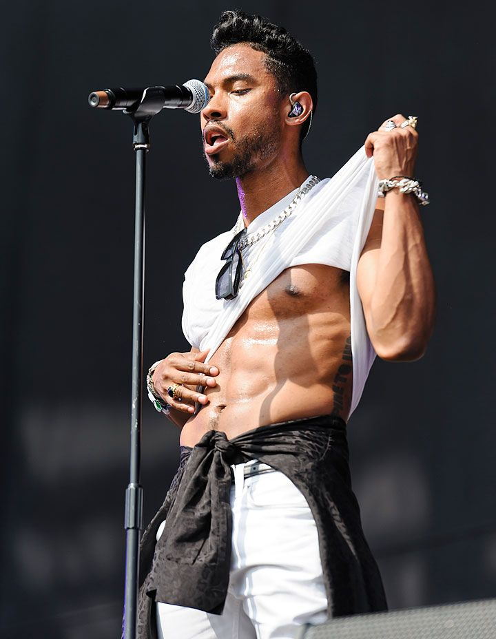 Miguel..... WOW! I never thought I would like what I see when it comes to Miguel, but me likey.