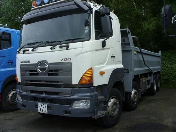 HINO FY FY2PUKA SLP steel body tipper Diesel - http://tractorsforsales.com/hino-fy-fy2puka-slp-steel-body-tipper-diesel/