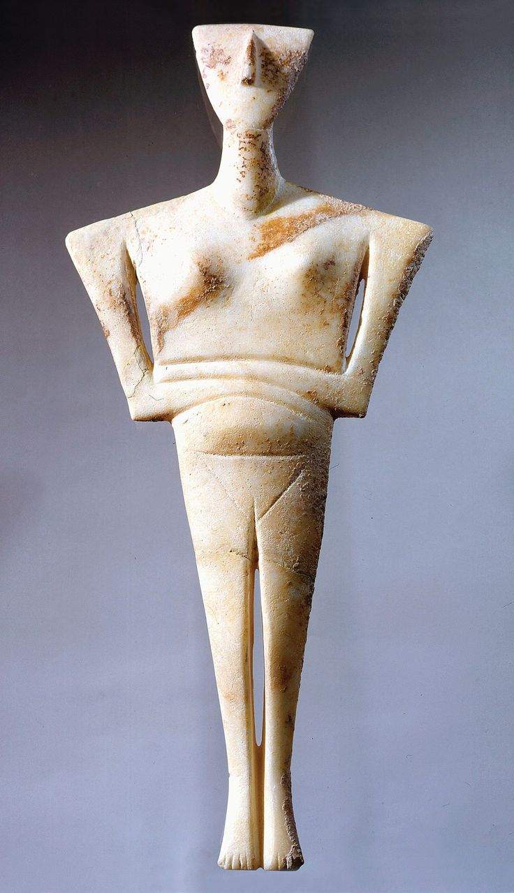46 Best Cycladic Idols Images On Pinterest Sculpture