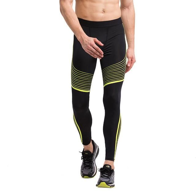 Men's Compression Pants Running Tights Basketball Gym Pants Bodybuilding Jogger Jogging Skinny Leggings Trousers Sportswear