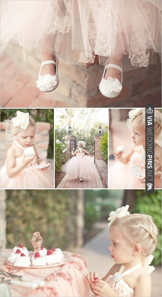 Flower Girl. | CHECK OUT MORE IDEAS AT WEDDINGPINS.NET | #weddings #flowergirls #ringbearers