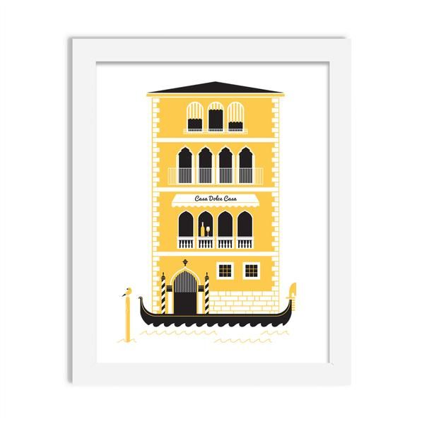 italia - 8 x 10 print - JustGreet