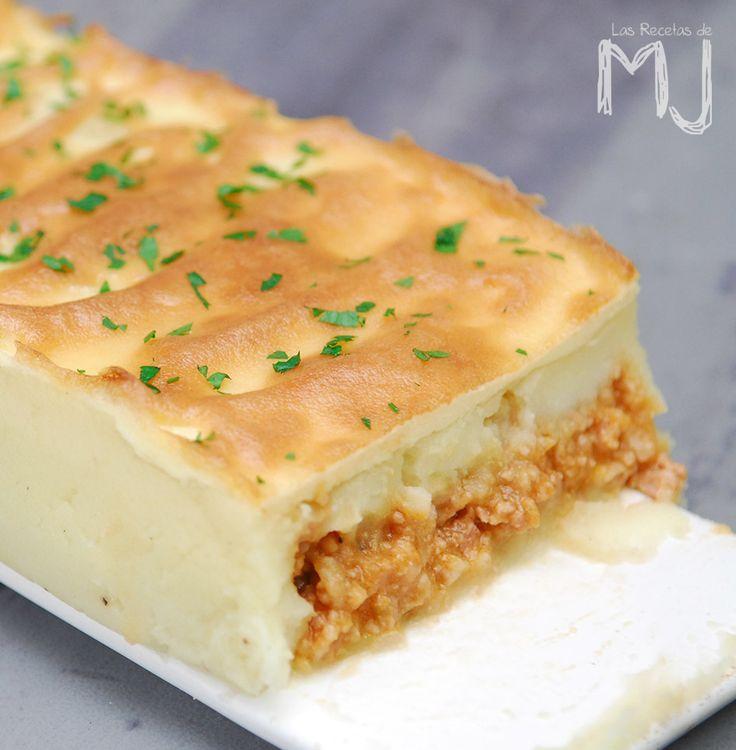 """Esta pastel de carne y patata está más que comprobado, pues es una receta que llevo haciendo en casa desde hace años. El aspecto """"frágil..."""