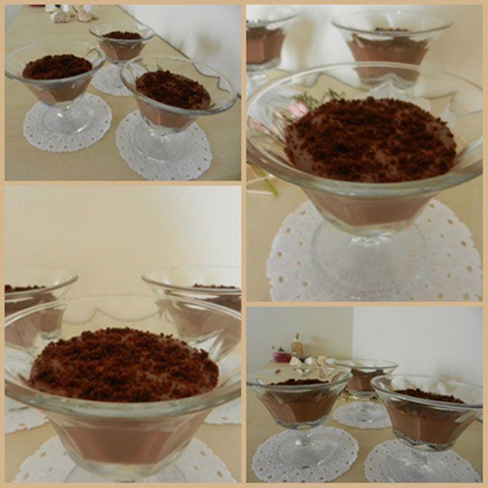 Çikolatalı Kremalı Puding