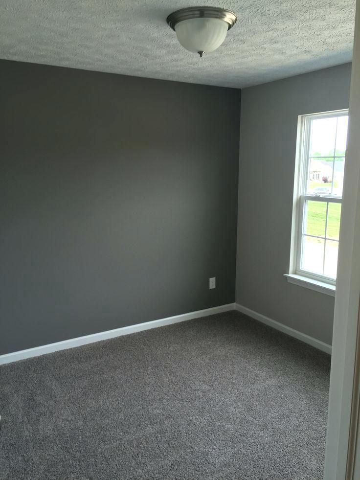 What Color Carpet With Grey Walls Dovetail Gray And Agreeable Gray
