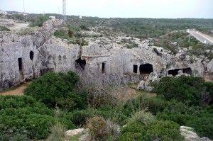 att Necropolis de Cala Morell