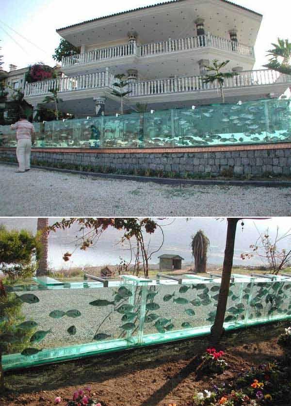 DIY Aquarium Fence