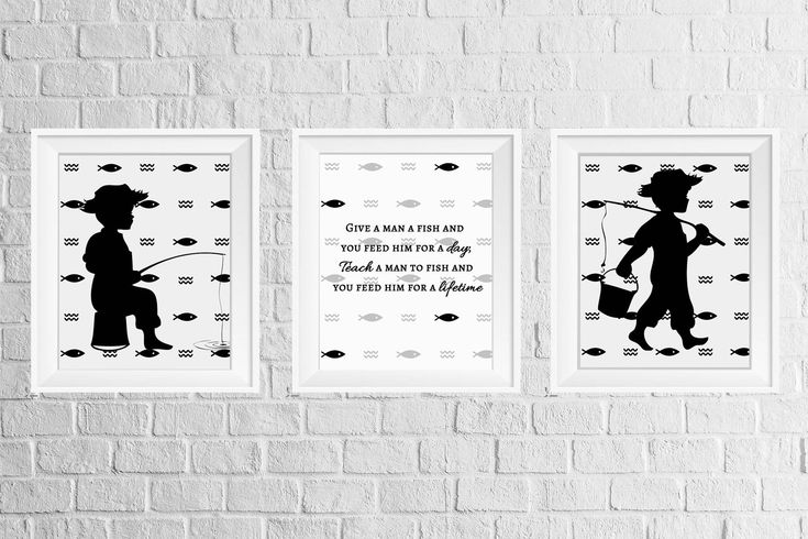A personal favorite from my Etsy shop https://www.etsy.com/listing/546126117/boys-room-or-nursery-decor-print-set