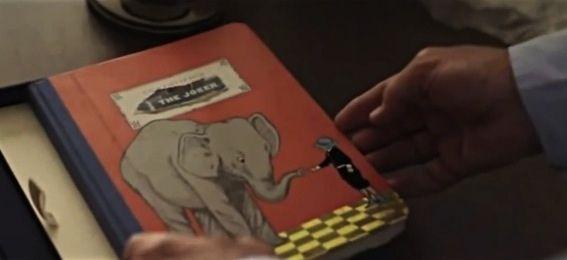 Heath Ledger's father, Kim Ledger, takes the viewer through the Joker diary. | Heath Ledger's Creepy Joker DiaryRevealed