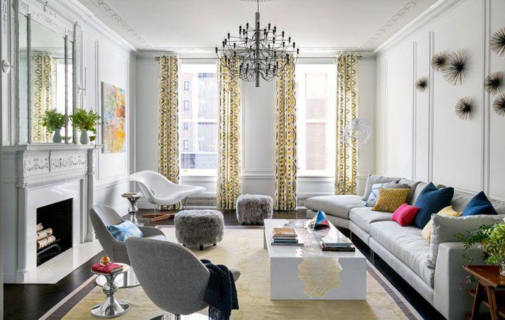 Trevor Tondroupdate - desire to inspire - desiretoinspire.net  wainscoting with ceiling detail living room