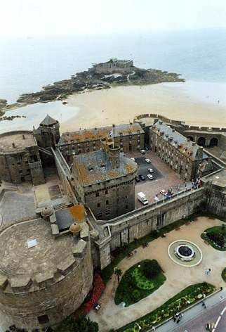Kite Aerial Photography - St. Malo, France