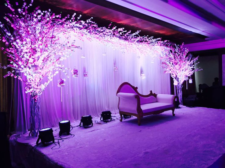 We make sure that the spotlight is literally only on you. Just one of the beautiful decorations we have for you to choose from. #bookeventz #wedding #weddingstage #stagedecoration #stagephoto #stagephotography