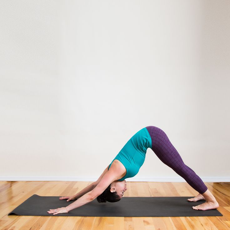 It's important to do the downward dog correctly: not only to avoid injury, but also to make it as comfortable and effective as possible.