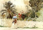 On the Way to the Bahamas  by Winslow Homer