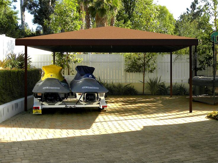 Canvas Carport Boatport By Superior Awning In Southern