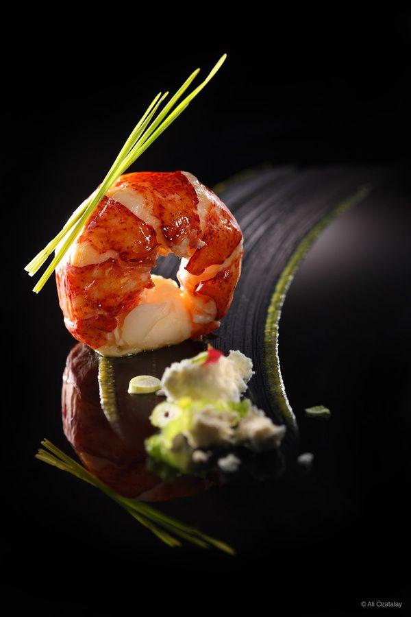Gaja Fine Dining Restaurant by Ali Ozatalay, via Behance #plating #presentation