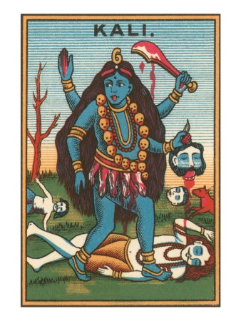Kali, Goddess of Destruction Giclee Print