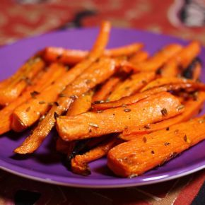 Sweet roasted carrots with cumin bring something unexpected to the table