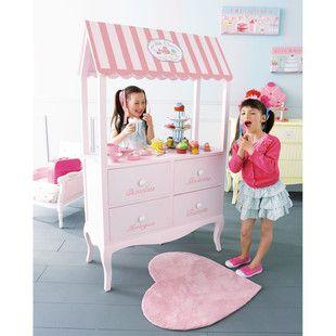 Scaffale rosa per bambini - Gourmandise