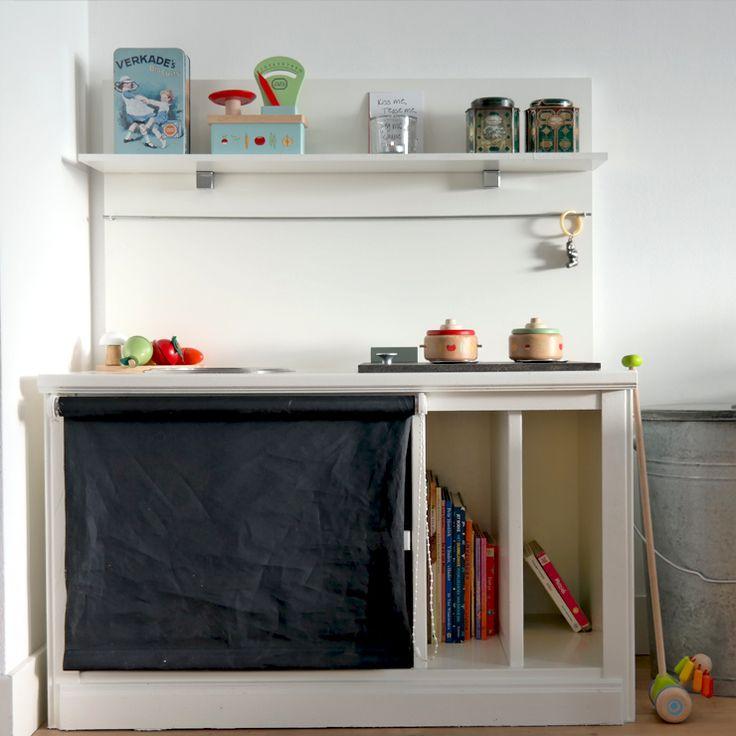 speelgoedkeukentje, speelgoed, DIY keuken, DIY speelgoedkeuken, houten…