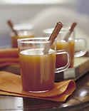 Mulled Cider - Martha Stewart Recipes. I halved it and put in some orange and lemon zest as well. SO GOOD!!