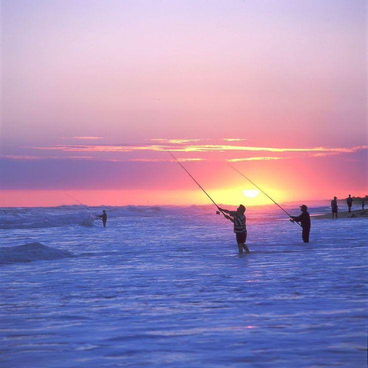 How beautiful is this fishing shot?! #love #fishing #sunset