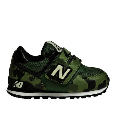 Love this Army Green & Olive 574 Toddler Sneaker by New Balance on #zulily! #zulilyfinds