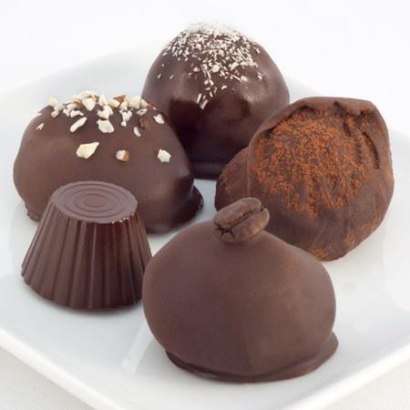 ... Hazelnut Mousse Truffle, Espresso Ganache Truffle, Raw Fudge Truffle