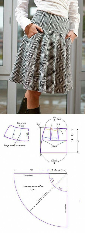 Plaid skirt..<3 Deniz <3