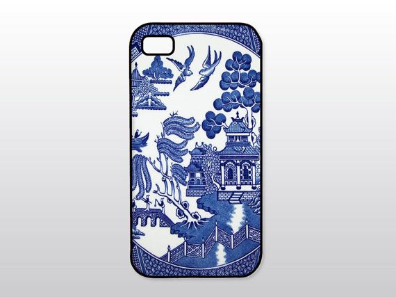 Blue & White iPhone Case - Vintage Blue Willow iPhone Case op Etsy, 13,64 €