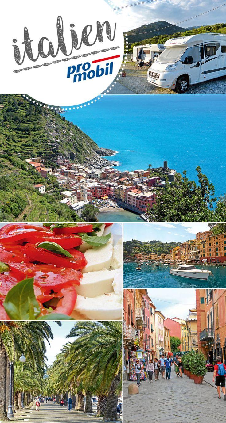 #Wohnmobil-Tour an der #ligurischen Küste Zwischen Meer und Himmel in Nordwest-#Italien  Schroffe Klippen, reiche Blütenpracht, kunterbunte Fischerdörfer, und idyllische Wanderwege: Auf einer #Mobil-Tour entlang der ligurischen Küste zeigt sich Italien von seiner malerischen Seite.