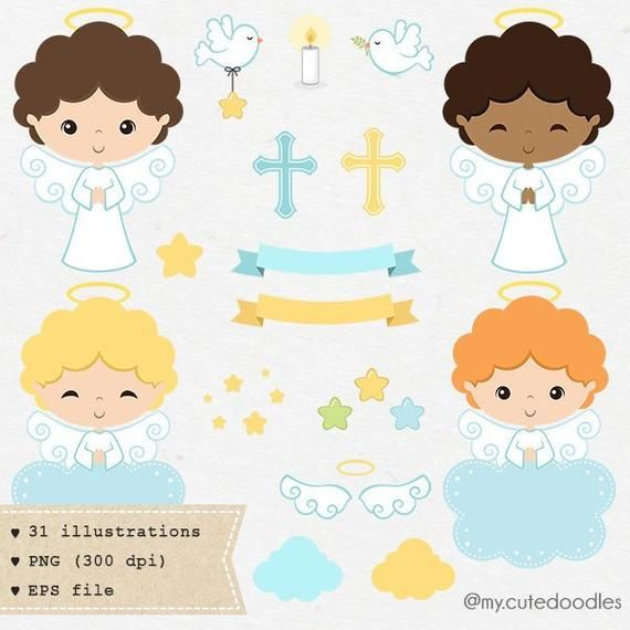 Angel Clipart Baptism Clipart Little Angel Baptism Angel Baby Shower Invite Baby Boy Baptism Blue And White C027 In 2020 Angel Clipart Clip Art Baby Boy Baptism