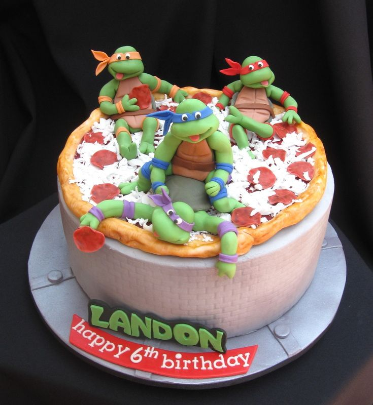ninja turtle cakes ninja turtle birthday party cake ninja turtle ...