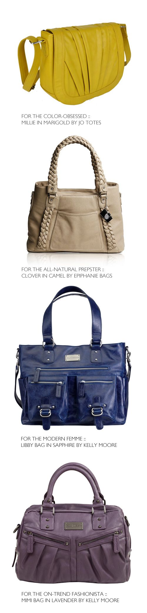 Stylish camera bags for ladies!