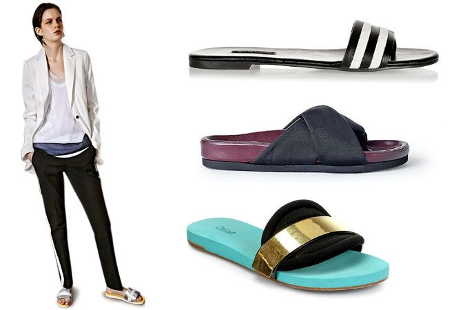 Trendy Shoes: Slides and Flip Flops by Fashion Designers - NYTimes.com