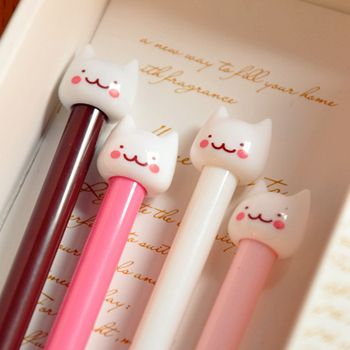 kawaii SWEET CUTE CAT pens, £3.00