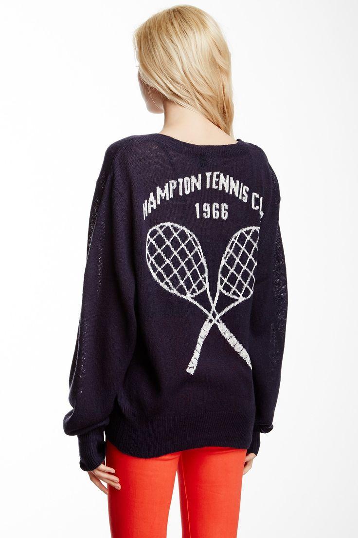 Hamptons School Girl V-Neck Sweater on HauteLook