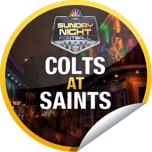 Sunday Night Football: Colts at Saints