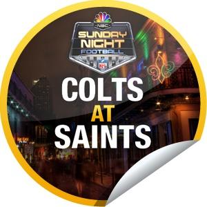 Sunday Night Football: Colts at Saints