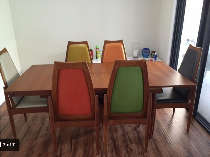 Chiswell Teak Table Amp Chairs In 2019 Mid Century Dining