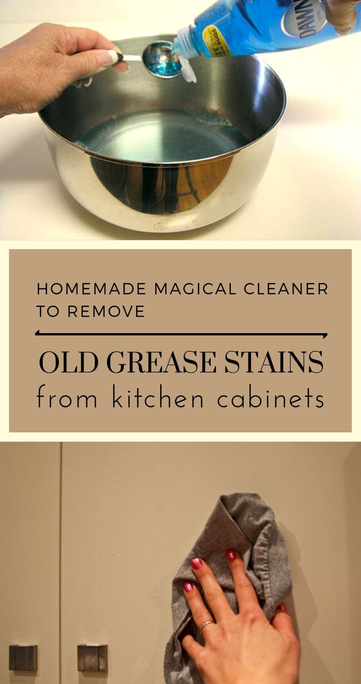 Pin By Bebe Crenshaw On Clean Everything Grease Cleaner Grease Stains Clean Kitchen Cabinets