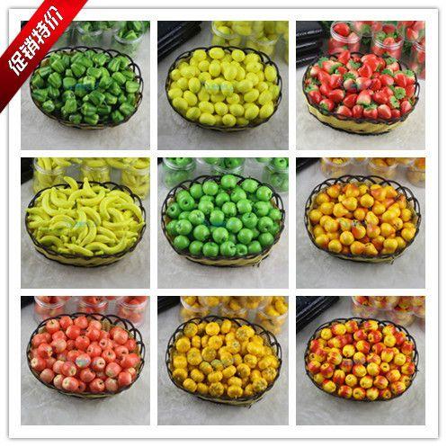 Моделирование мини фруктов и овощей поддельные фруктов и овощей украшения сцены декоративные аксессуары для дома Модель раннего обучения